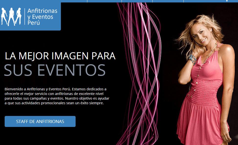 Anfitrionas y Eventos Peru